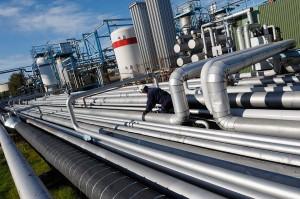 Giant-Pipeline-Construction